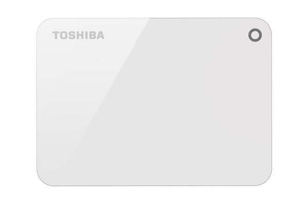 Toshiba Canvio Advance V9 USB 3.0 Portable External Hard Drive 2TB - White (HDTC920AW3AA)