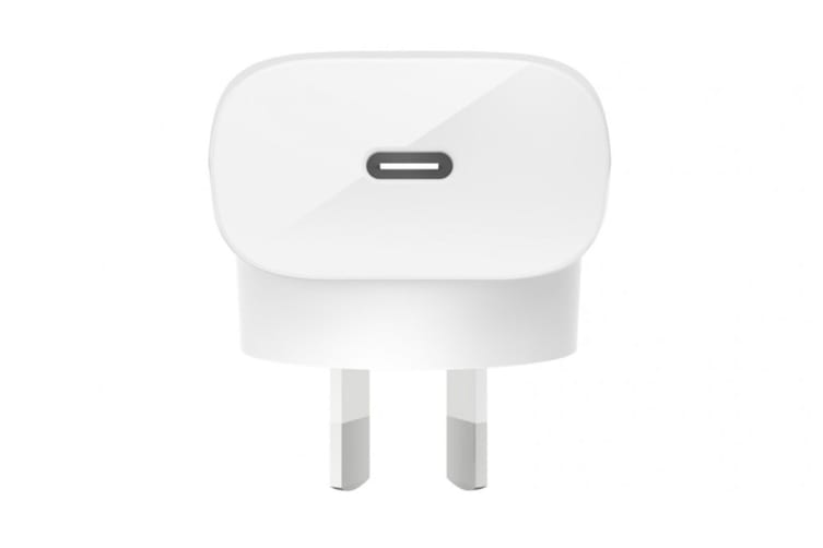 Belkin Boost Up Charge 18W and USB-C to Lightning Cable Wall Charger (F7U096AU04-WHT)