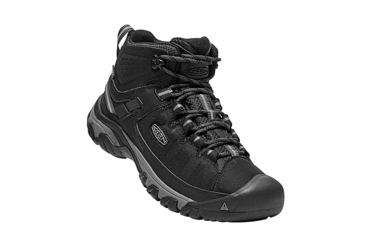 Keen Targhee EXP Mid Waterproof Mens - Black Steel Grey - 7
