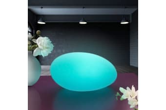 LED Rechargeable Glow Ball - Pebble Shaped 27cm
