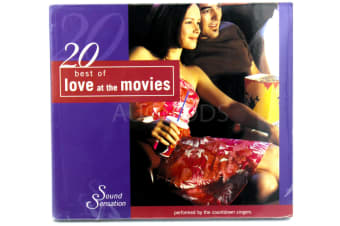 20 Best of Love at the Movies BRAND NEW SEALED MUSIC ALBUM CD - AU STOCK