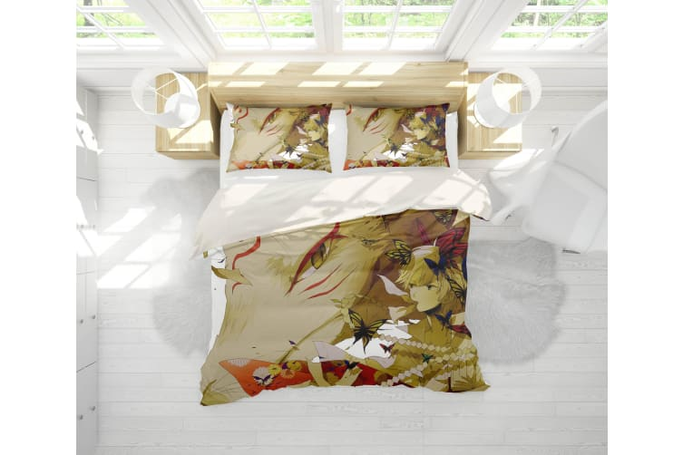 3D Anime Return Name Quilt Cover Set Bedding Set Pillowcases 17-Single