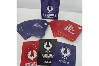 Terrible Candidates Funny Presidential Political Party Card Game