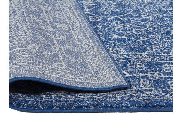 Artist Navy Transitional Rug 500x80cm