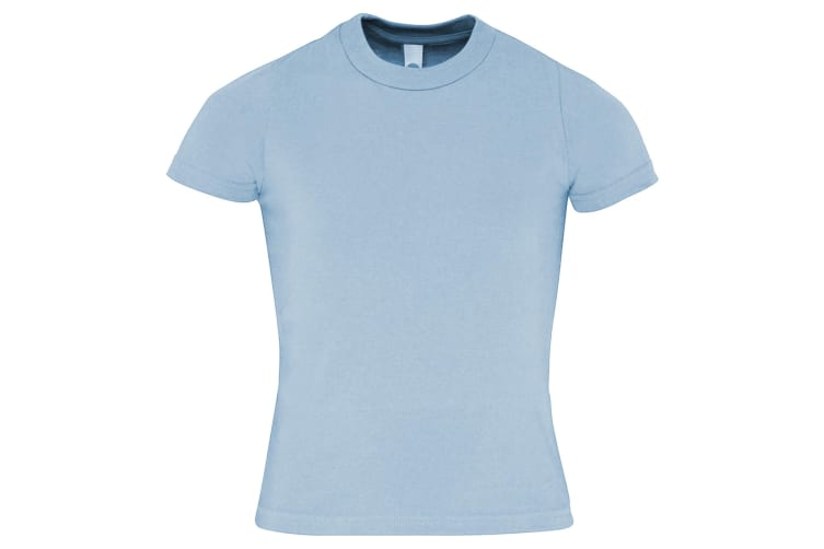American Apparel Childrens/Kids Plain Short Sleeve T-Shirt (Baby Blue) (6 years)