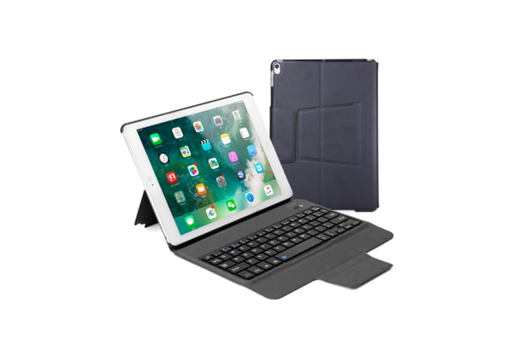 Wirelessn Bluetooth Keyboard,Slim Portable Magnetic Cover With Pencil Holder Black Ipad Mini4