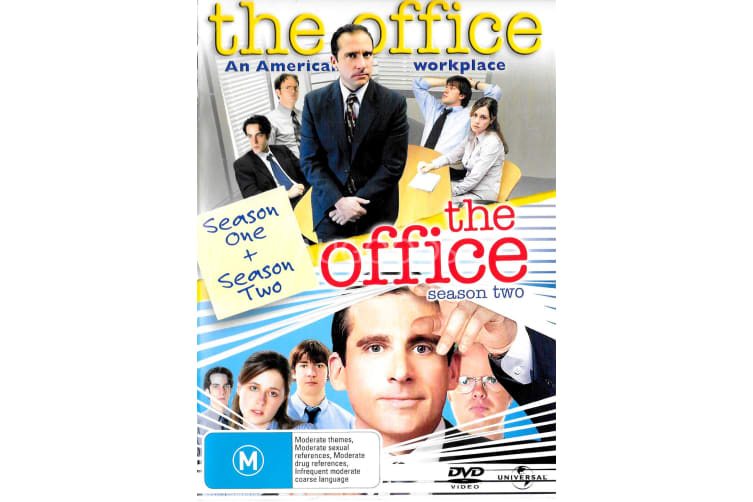 The Office 2 Disc Set - Series Region All Rare- Aus Stock DVD Preowned: Excellent Condition
