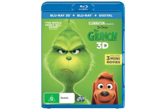 The Grinch 2019 Release 3D Edition with 2D Edition Digital Download Blu-ray