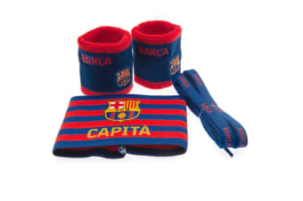 FC Barcelona Accessories Set (Blue/Red) (One Size)