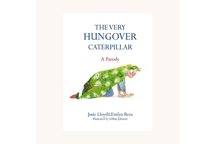 The Very Hungover Caterpiller Parody Book