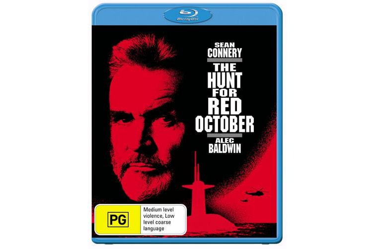 The Hunt for Red October Blu-ray Region B