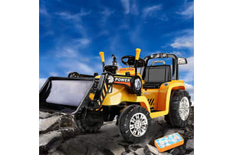 Kids Ride On Car Electric Bulldozer Digger Cars Loader Tractor Excavator