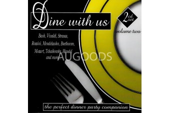 Dine with us volume two 2cd set BRAND NEW SEALED MUSIC ALBUM CD - AU STOCK
