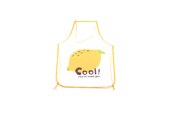 Cute Fruit Cartoon Bib Apron Kitchen Cooking Transparent Waterproof - 6