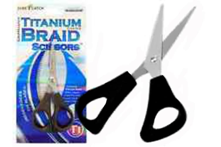 Surecatch Stainless Steel Gripmaster Braid Scissors - Titanium Coated