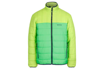Regatta Great Outdoors Mens Icebound IV Mid Weight Insulated Jacket (Lime Green/Fairway Green) (S)