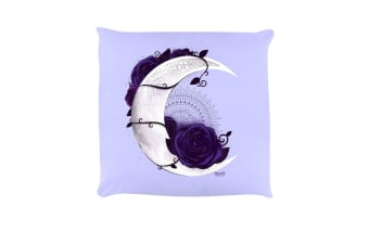 Requiem Collective Lunar Mandala Cushion (Lilac) (One Size)