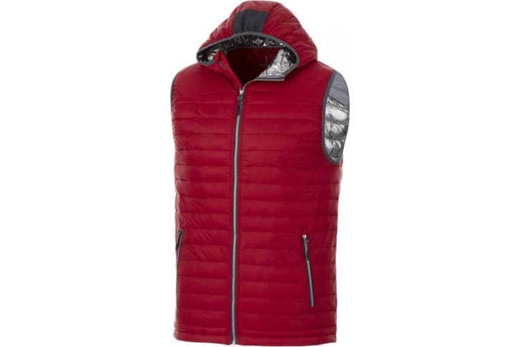 Elevate Mens Junction Insulated Bodywarmer (Red) (XL)