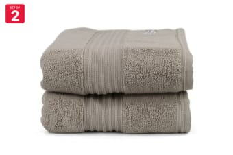 Onkaparinga Ultimate 100% Turkish Cotton Bath Mat Set of 2 (Mocha)
