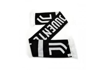 Juventus FC Supporters Home Scarf (Black/White)