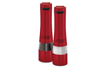 Russell Hobbs Salt & Pepper Mills - Red (RHPK4000RED)