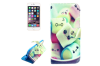For iPhone 6S 6 Wallet Case Fun Marshmallows Durable Leather Shielding Cover