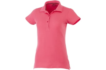 Slazenger Advantage Short Sleeve Ladies Polo (Pink)