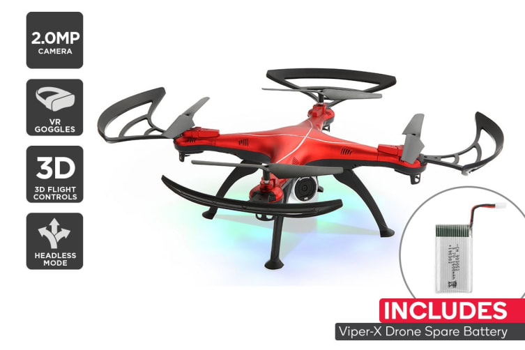 Viper-X Drone with VR Headset Combo