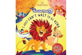 The Lion King - I Just Can't Wait to be King + CD