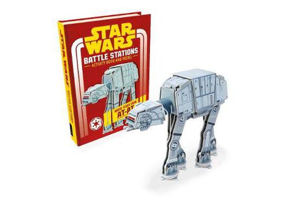 Star Wars: Battle Stations - Activity Book and Model