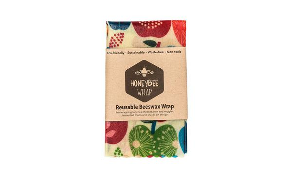 HoneyBee Wrap Reusable Beeswax Wrap Medium