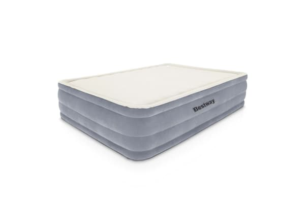 Bestway Queen Inflatable Air Mattress Bed With Built In Electric