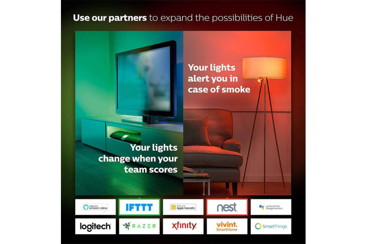 3x Philips Hue White Ambiance GU10 Spot Light 5W Dimmable/LED Smart Bulb