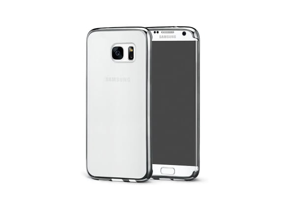 Samsung Galaxy S7 Edge Slim Bumper Case (Clear)