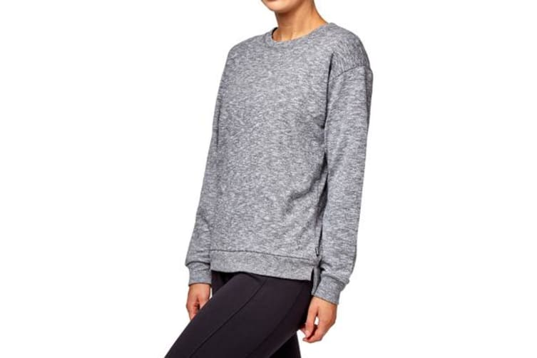 Bonds Women's Textured Logo Pullover (Black/White, Size XS)