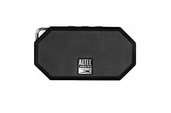 ALTEC LANSING Mini H20 3 Black - EVERYTHING PROOF Rugged & waterproof Bluetooth
