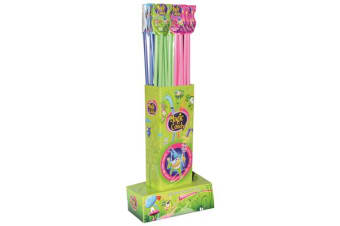 12 x Magic Candy Straws 68g