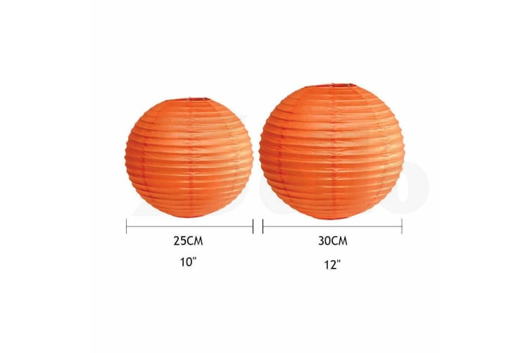 """12 Paper Lanterns for Wedding Party Festival Decoration - Mix and Match Colours  -  Grass Green12""""Cool White - 3000K"""