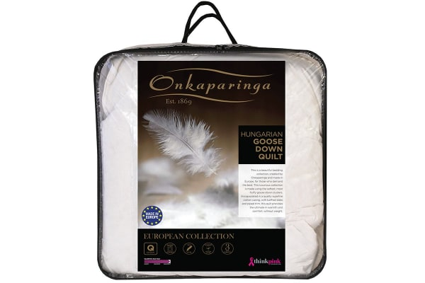 Onkaparinga Hungarian 85% Goose Down Quilt (King)