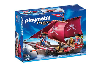 Playmobil Pirates Soldiers' Patrol Boat