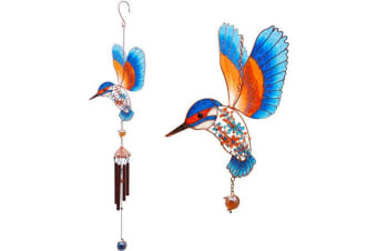 Something Different Kingfisher Wind Chime (Multicolour)