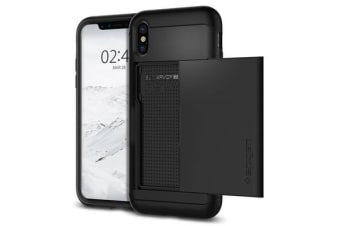 Spigen iPhone X Slim Armor CS Case Black
