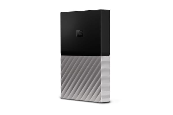 WD My Passport Ultra 2TB Portable Hard Drive - Grey (WDBFKT0020BGY-WESN)