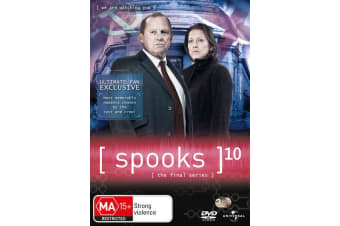 Spooks The Complete Season 10 DVD Region 4