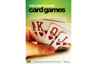 Popular Card Games - Series Rare- Aus Stock DVD NEW