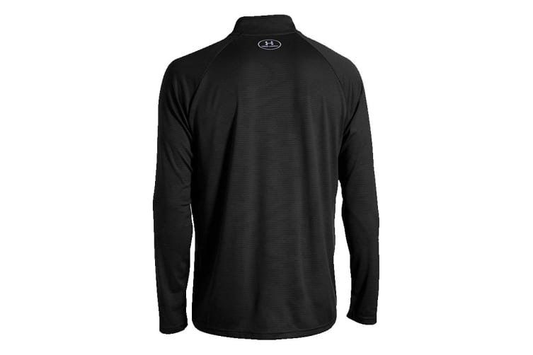 Under Armour Men's Tech 1/4 Zip (Black/White, Size Small)