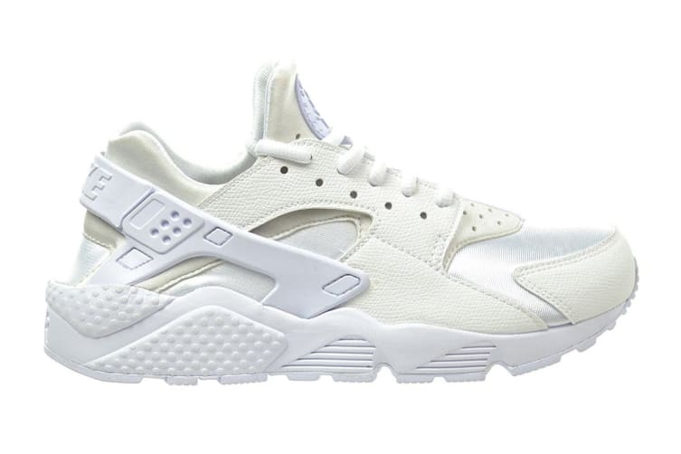 new arrival a775c bbcfd Nike Women's Air Huarache Run Running Shoe (Triple White, Size 10.5 US)