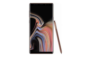 Samsung Galaxy Note 9 (Dual Sim 4G/4G, 128GB/6GB) - Metallic Copper