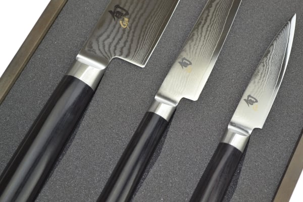 Shun Classic 3 Piece Knife Set - Gift Boxed