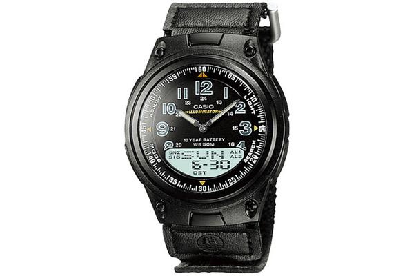 Casio Men's World Time (AW-80V-1BV)